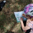 A nature detective on the case at Pella Crossing.