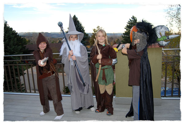 Lord of the Rings Halloween costumes