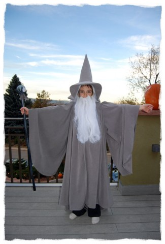 Homemade Gandolf costume
