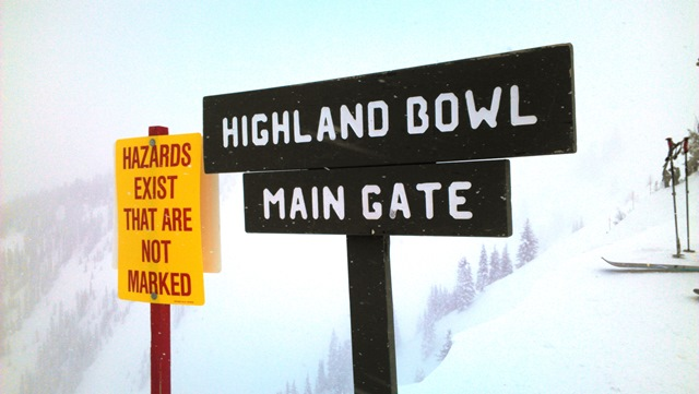 Highland Bowl is a long soul cleansing hike.