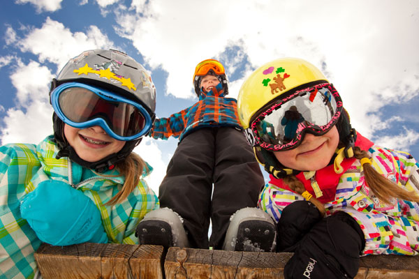 Skiing and riding free at Aspen. Photo by Jeremy Swanson